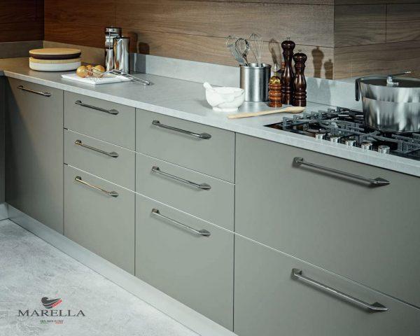 chrome kitchen cabinet handles