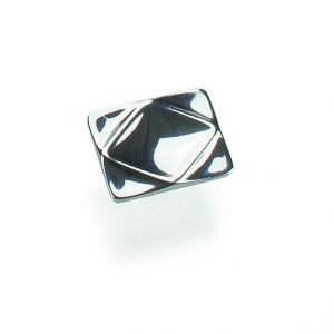 chrome knob 32 mm giusti