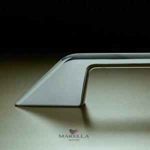 chrome modern bar handle