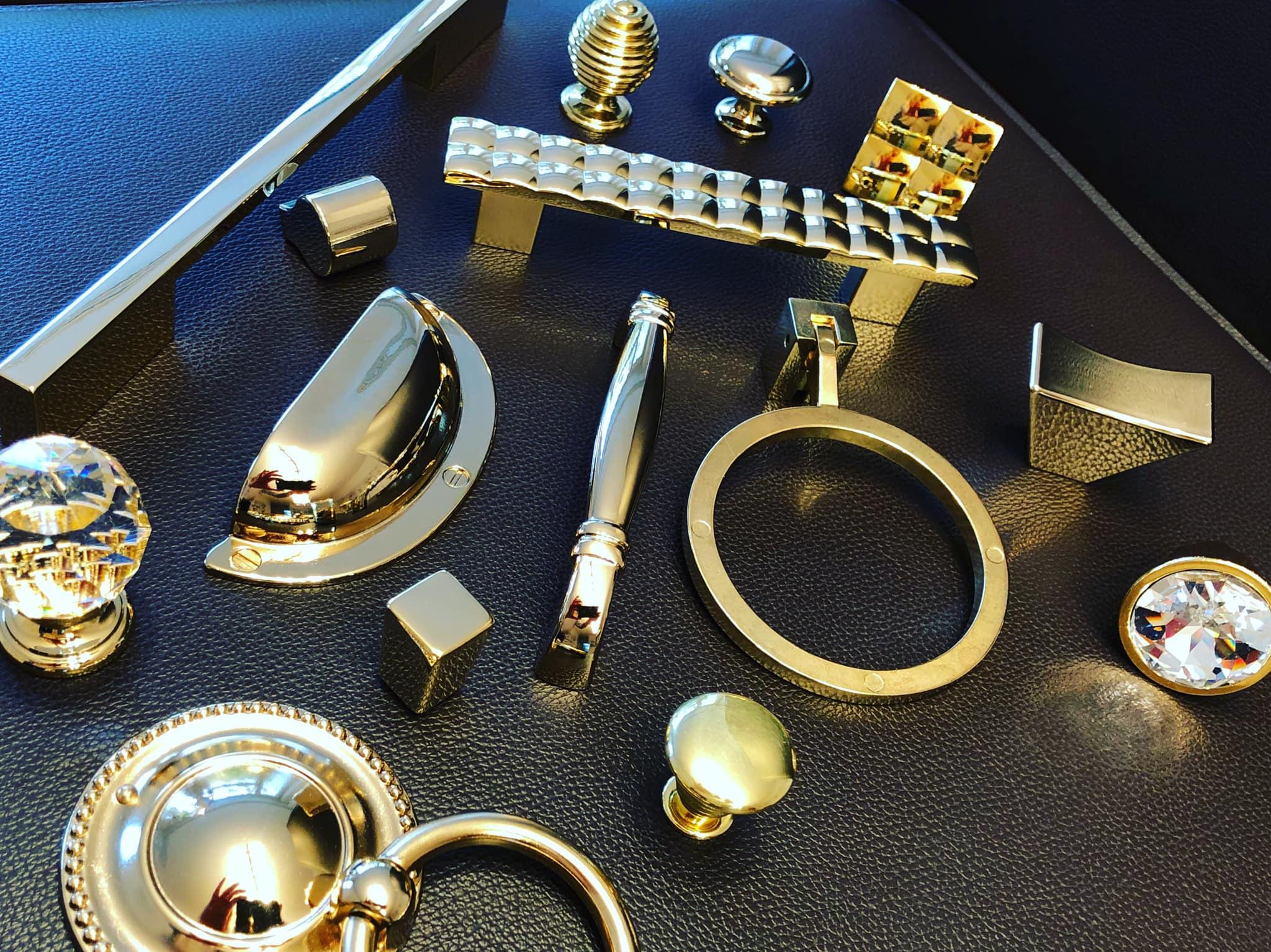 gold kitchen handles marella