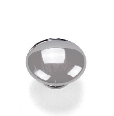 polished chrome 30 mm knob made by Giusti Italy