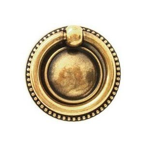 furniture ring pull gold