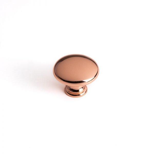 30 mm rose gold knob