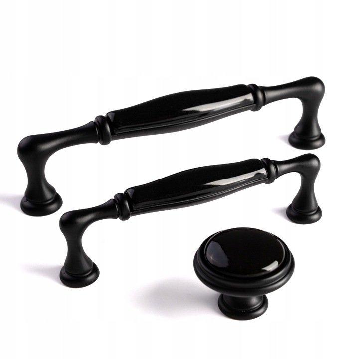 kitchen ceramic handles black