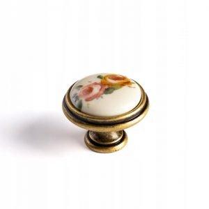 brushed gold drawer knob kitchen