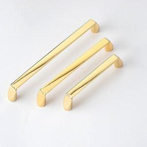 kitchen cupboard handles gold