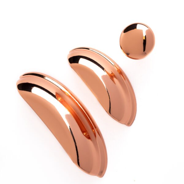 rose gold cupboard handles giusti