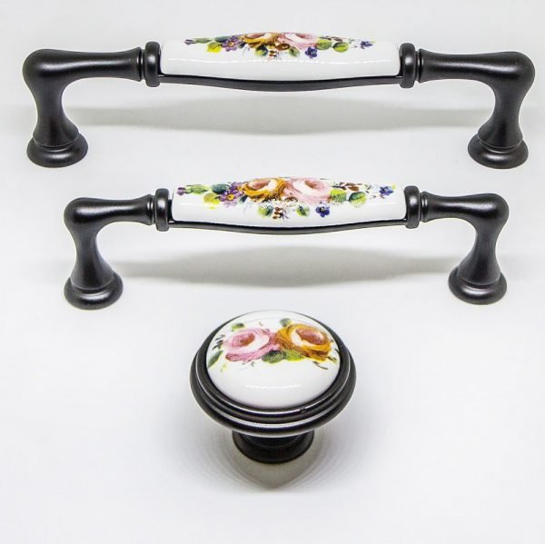 vintage kitchen ceramic handles