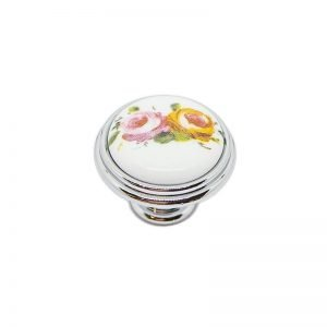 white ceramic floral decor giusti