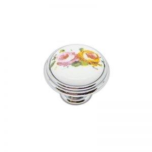 white ceramic floral decor giusti
