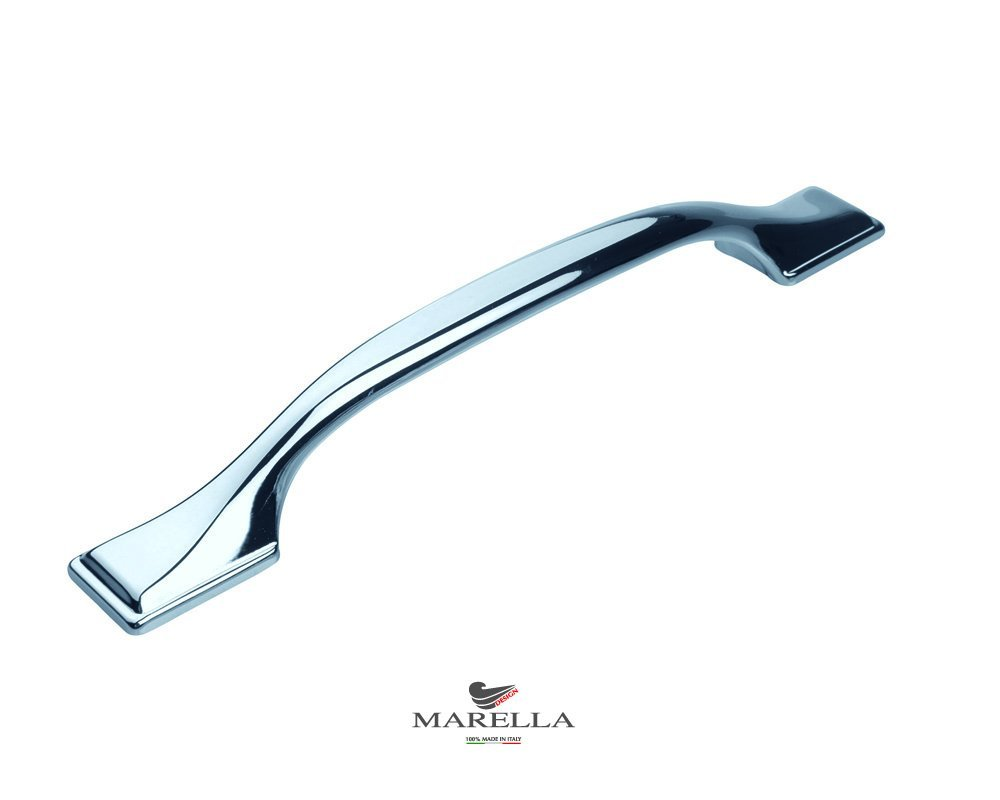 polished chrome kitchen handle