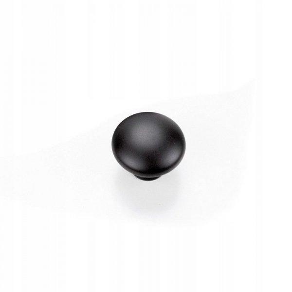 black cupboard knob 30 mm