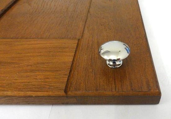 cupboard knob polished chrome