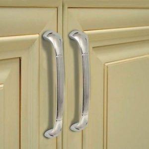 kitchen door handles chrome