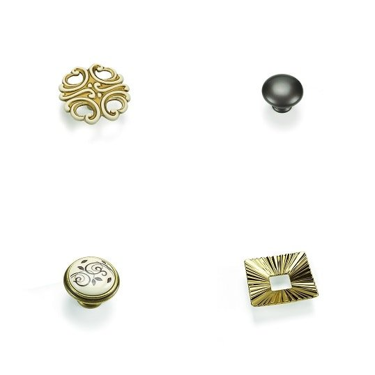 furniture knobs made by Giusti Italy