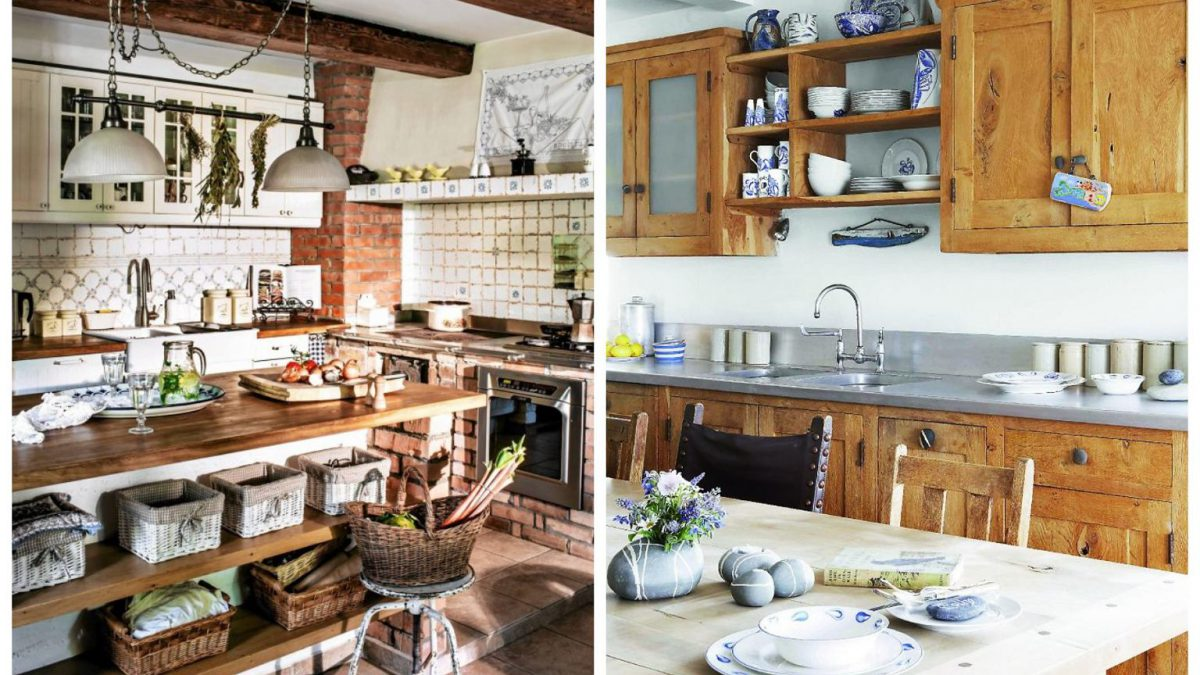 rustic kitchen ideas and features
