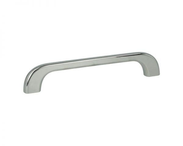 polished chrome kitchen drawer handle