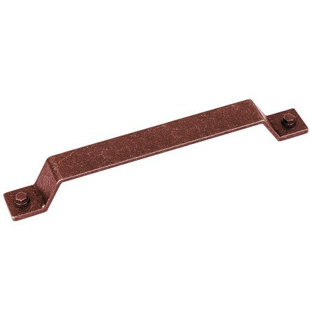 old copper industrial cabinet handle