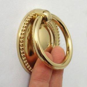 6 cm diameter gold ring pull