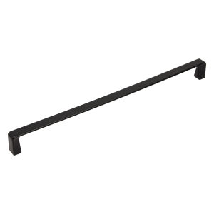 black mat long kitchen handle size 320 mm