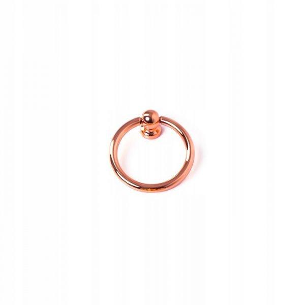 4 cm rose gold ring pull