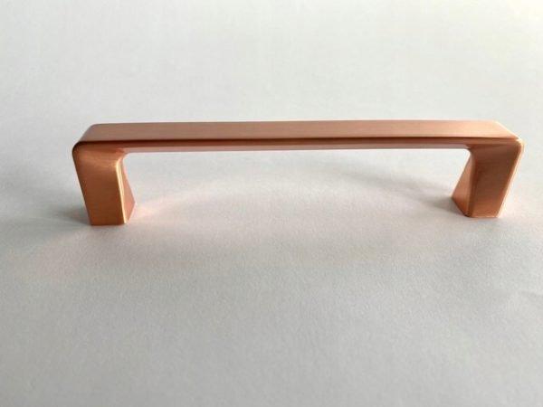 kitchen door handle brushed copper