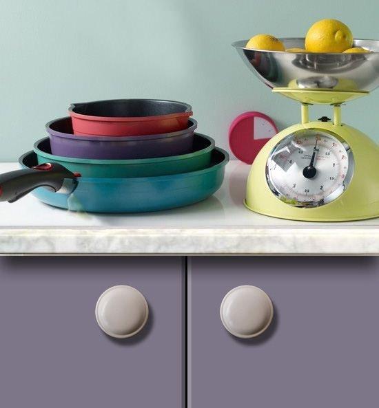 white drawer knobs 30 mm