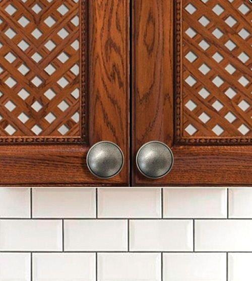 old vintage silver kitchen door knobs