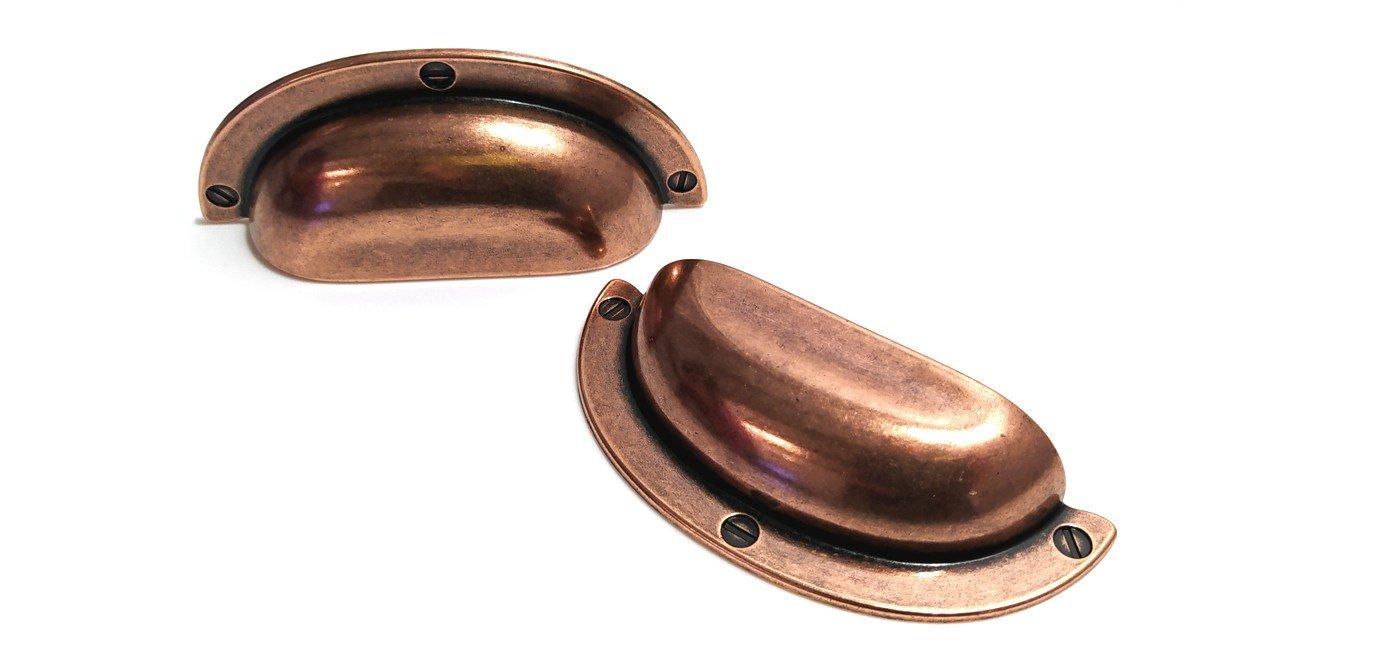 copper cup handles vintage