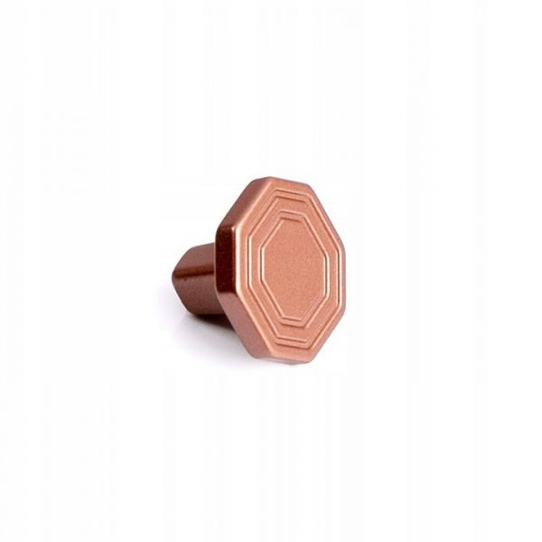 copper drawer handle