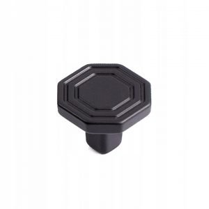 mat black drawer knob 30 mm