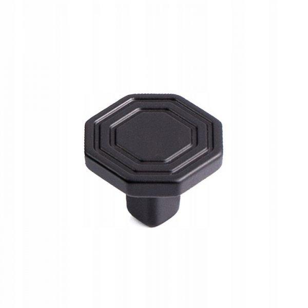 mat black drawer knob 30 mm