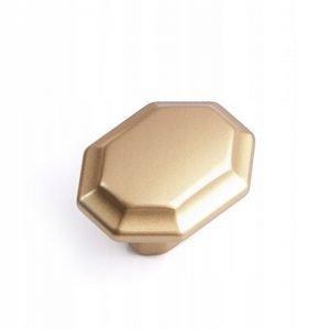 mat gold kitchen drawer knob