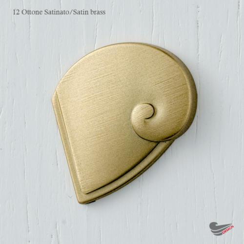 colour 12 - Marella - Ottone Satinato - Satine brass