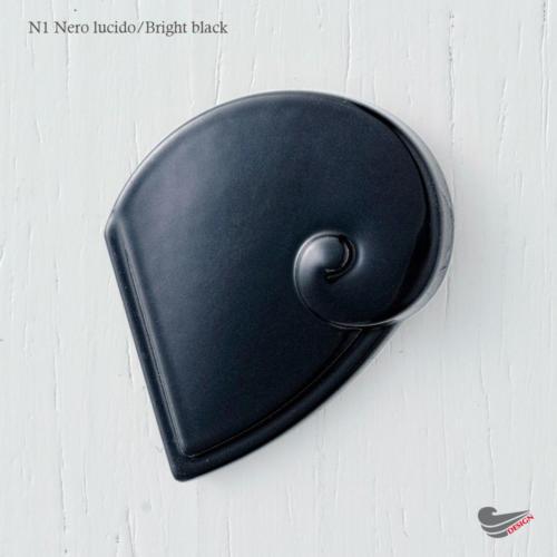 colour N1 Nero lucido - Bright black - Marella